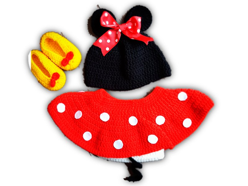 Outfit de Minnie Mouse