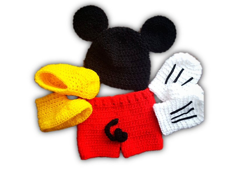 Outfit de Mickey Mouse