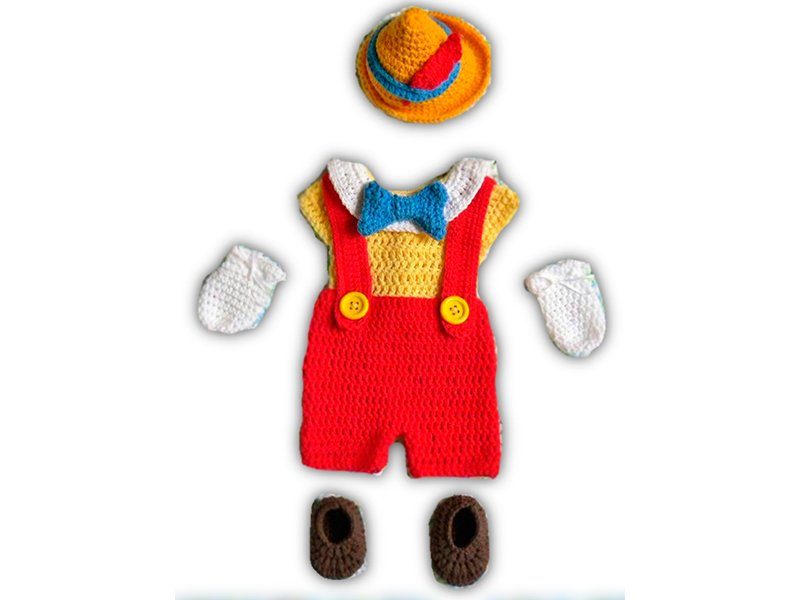 Outfit de Pinocho
