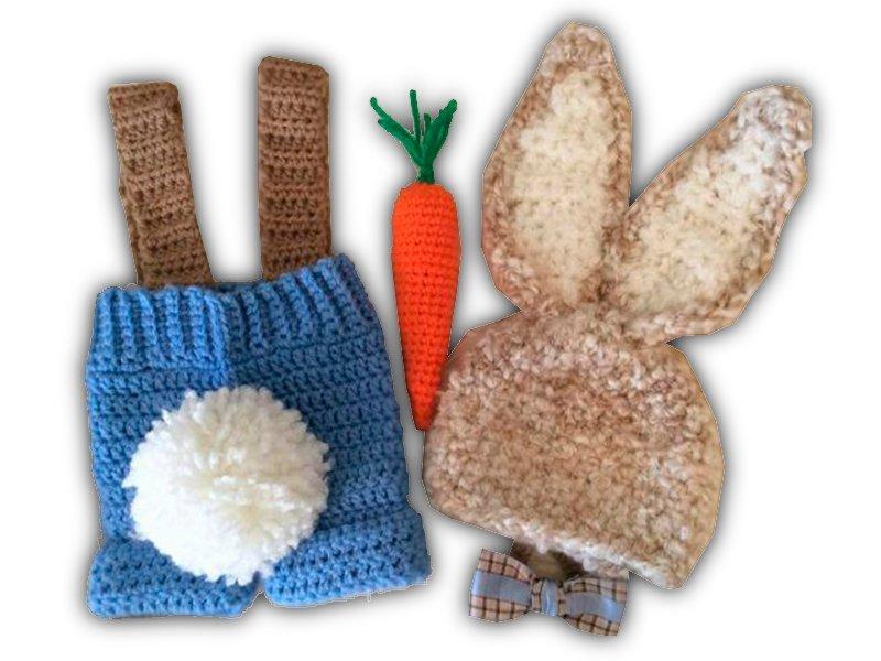 Outfit de Conejo con zanahoria